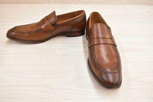 Steve Madden Pardin Dress Loafers, Men's Size 10M, Tan Leather