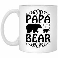 Father's Day Coffee Mug Papa Bear Coffee Mugs Gift For Dad On Father's Day