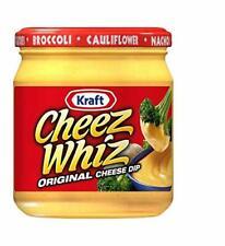 Kraft Cheez Whiz Original Cheese Dip Pack of 3
