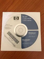 CD Drive e Software per HP PSC -1100-1200 Series Win/MAc v.2.1.0 Multilingua