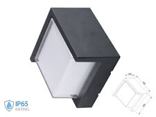 Applique Lamp LED Wall Clock Square Neutral 4000K 12W IP65 Semicoperto