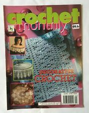 CROCHET MONTHLY, issue No 309. instruction & pattern magazine