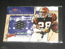 Corey Dillon Bengals Star Legend Authentic Event Game Used Jersey Football Card