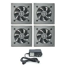 PROCOOL AVM-480T Silent 4 fan cabinet cooling system with mounting plates