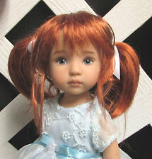 "Monique Doll Wig ""Lillie"" Size 6/7 - Double Red NEW!"
