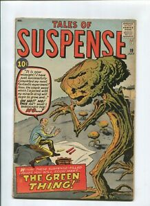 TALES OF SUSPENSE #19 (4.0) *THE FISHERMAN COLLECTION* THE GREEN THING 1961