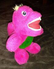 L@@K 1992 barney look-alike scary plush creepy unique ugly purple dinosaur