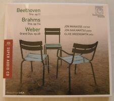 MANASSE NAKAMATSU GREENSMITH (SACD) BEETHOVEN BRAHMS WEBER   NEUF SCELLE