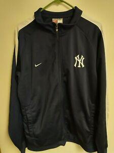 Nike MLB New York Yankees Baseball Jacket - LARGE - NYY Yankees - EUC
