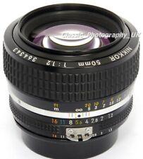 NIKKOR 50mm 1:1 .2 il più veloce NIKON Ai-Analogico + alcuni S Digital Fit focale fissa