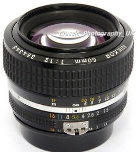 NIKKOR 50mm 1:1.2 the FASTEST NIKON Ai-S Analog + some DIGITAL fit PRIME Lens