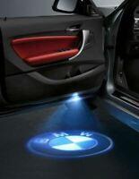 2x LED C Projector Logo Door Light Laser Bulbs For BMW E M F Car Series