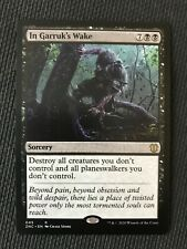 Mtg - In Garruk's Wake - Nm/M {Commander Zendikar Edition} Fast Ship - Magic