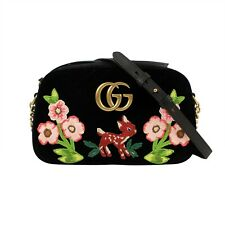 Gucci Marmont Shoulder Bag - Black