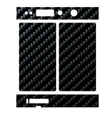 Skin Wrap for Snow Wolf Mini 75W TC MOD Decal Vape Sticker - BLACK CARBON