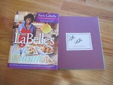 Celebrity Chef PATTI LaBELLE's signed LITE CUISINE 2003 1st Ed Book #1