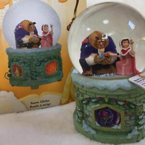 Beauty and the Beast Rare Disneyland Paris Limited Snow Globe