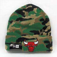New Era Cap Men's MLB Chicago Bulls Team Camo Winter Knit Beanie Hat