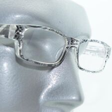 Reading Glasses Sharp Ink Style Tattoo Graffiti Frame +2.50 Clear Black