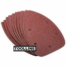 10 x Mouse Sanding Sheets to Fit Black and Decker Detail Sander KA160/1 120 grit