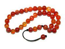 A0339 - Prayer Beads Worry Beads Tasbih Natural Agate Gemstone Handmade Unique