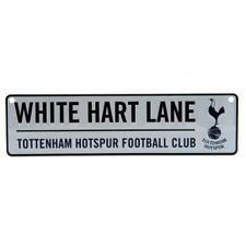 Tottenham Hotspur FC Hanging Metal 3D Novelty Street Sign White Hart Lane SC