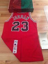 Michael Jordan UDA Upper Deck Signed Autograph Champion 96-97 GOLD LOGO Jersey
