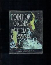 PATRICIA CORNWELL POINT OF ORIGIN KAY SCARPETTA 2X CASSETTE