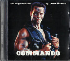 SC - COMMANDO / RED HEAT (Complete Motion Score) James Horner