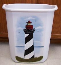 HP LIGHTHOUSE WASTE PAPER BASKET/NEW BY MB