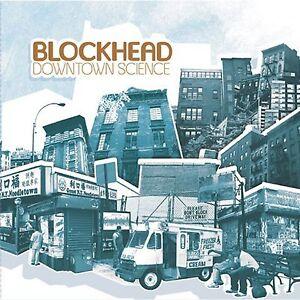 BLOCKHEAD 'DOWNTOWN SCIENCE' CD+DVD NEW UNPLAYED DISTRIBUTOR STOCK