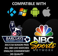 NBC Sports 2017/18 Season Pass