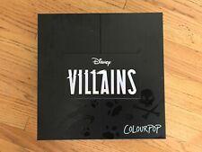 Colourpop x Disney Villains Collection NIBEntire Collection SOLD OUT EVERYWHERE