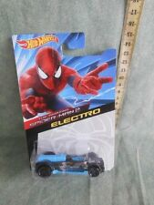 MATTEL HOT WHEELS SPIDER MAN 2 ELECTRO NUOVO