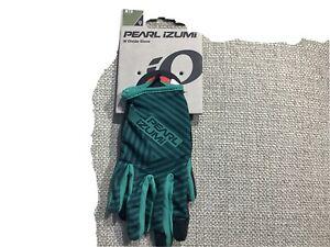 Pearl Izumi woman's Divide Cycling glove Medium $30 pine