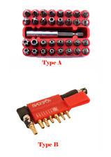 33pc/9pc Security Bit Set Star Hex Key Torx Tamperproof Kit Tri Wing Screwdriver