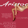 Aristoc Bodytoners 15 Denier Tum Bum & Thigh Control Tights Black Nude Illusion
