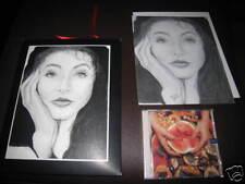 Kate Bush Eat Music US CDS Limited Envelope Lithograph