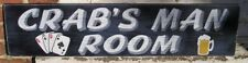 CUSTOM PERSONALIZED PUB GAME ROOM BAR BEER WOOD SIGN, Hand painted made to order