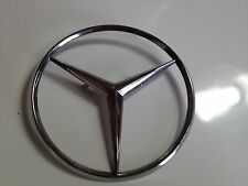 86-91 M-BENZ Trunk Lid Emblem BADGE one pin is broken P# 1267580158 GENUINE