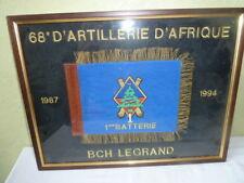 Tableau 68 E D'Artillerie D'Afrique 1987 1994