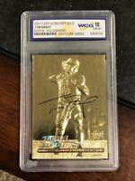 2000 Fleer Ultra 23k Gold/ Holo TOM BRADY Rookie Card. Gem Mint 10 💎