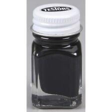 Testors 1149C2 Flat Black 1/4 oz Carded