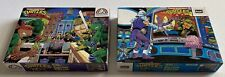 RARE Vintage 1980's Teenage Mutant Ninja Turtles Pizza Time Rooftop Puzzles LOT