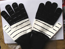CAMPAGNOLO BLACK AND WHITE RETRO CYCLING GLOVES SIZE LARGE / XL RRP £29.99