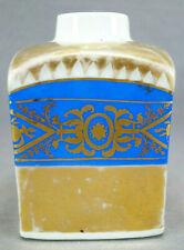 Greiner Rauenstein Germany Neoclassical Blue & Gold Tea Caddy Circa 1783-1800