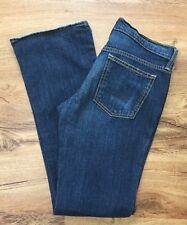 Old Navy Denim Ultra Low Waist Boot Cut Stretch Jeans Womens Size 6 Regular