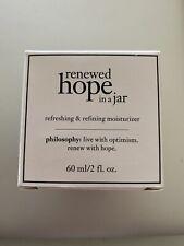 Philosophy Renewed Hope In A Jar Refreshing & Refining Moisturizer, 2 Oz