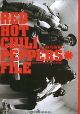 Red Hot Chili Peppers File Japan Book 2002 Anthony Kiedis Flea Chad Smith