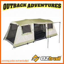 OZTRAIL BUNGALOW 9 DOME TENT FAMILY CAMPING (3 ROOM) 9P PERSON